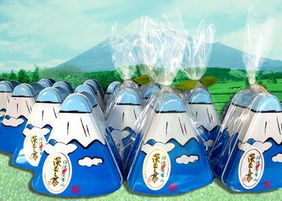 富士山の缶入り深蒸し茶の販売を始めました。